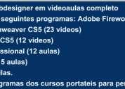 Curso webdesigner completo videoaulas