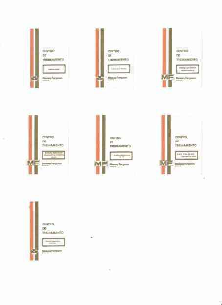 Manual de Serviço Trator Massey Ferguson Em CD-ROM
