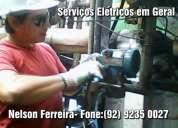 Eletricista geral em manaus- am (92) 9235 0027 nelson