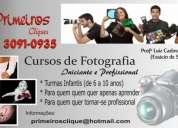 Curso de fotografia iniciante e profissional