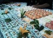 Sushiman - aux. cozinha - atendente de buffet