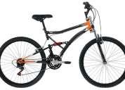Bicicleta caloi xrt full suspension nova, nunca foi usada