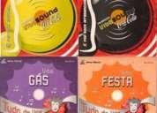 Coleção mini cd's coca-cola tudo de vibe e vibe sound