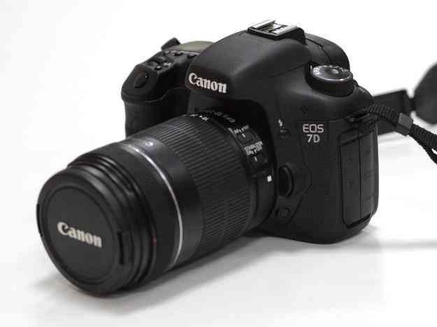 Canon e os 7d