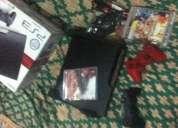Playstation3 de 320gb slim com 2 controles e 4 jogos originais