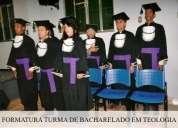 Curso de teologia (baccharel, mestrado e doutorado)