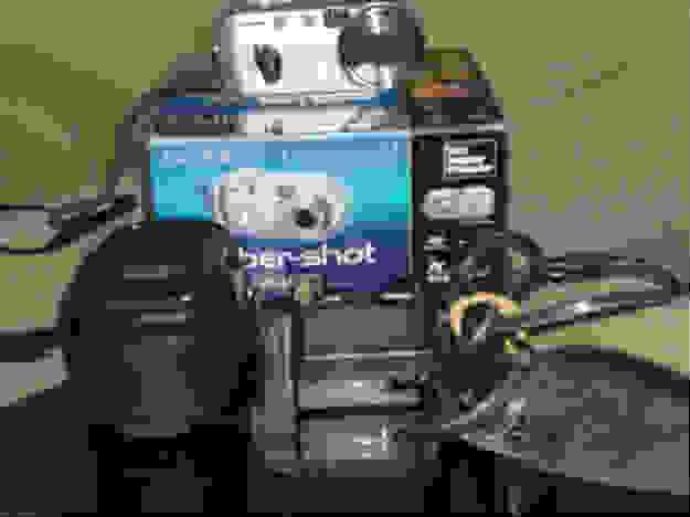 Câmera digital sony ciber shot 4.1mega
