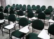 Cadeiras universitárias estofadas. perfeito estado!