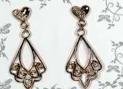 Brincos chandelier 10 camadas de ouro 18k - joias carmine