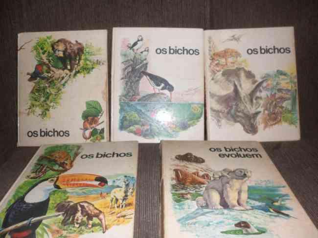 Coleção De Livros Os Bichos