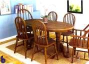 Sala de jantar móveis de gramado
