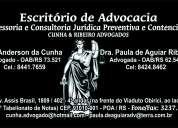 EscritÓrio de advocacia e assessoria e consultoria jurÍdica