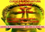 Curso reconhecido de acupuntura