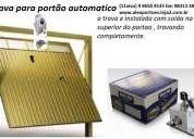 Trava eletrica para portão automatico instalada 983133832