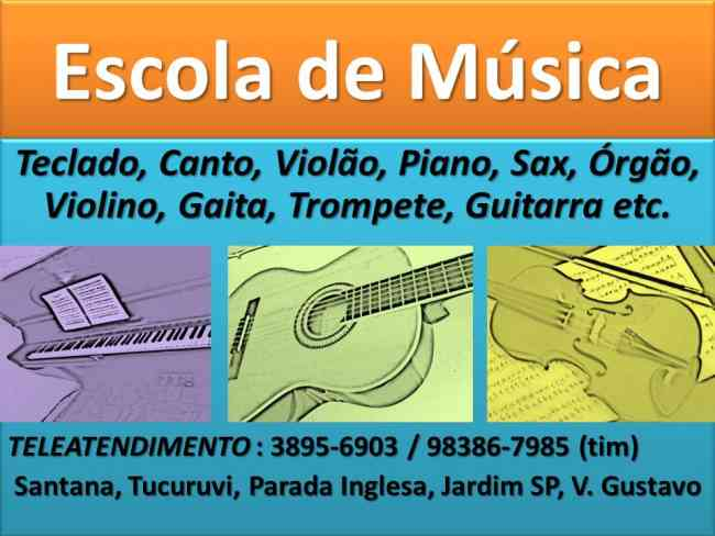 ESCOLA DE MUSICA ZONA NORTE SP