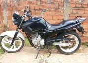 Vende-se yamaha - fazer 250 - 2008 - preta /branco - r$ 5.000,00