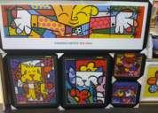 Zona sul vila mariana quadros produtos romero britto art reflexus sp