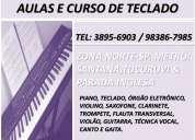 Aula de teclado zona norte metro santana carandiru jd sao paulo
