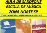 Aulas de saxofone curso de sax alto e tenor santana tucuruvi