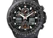 Citizen skyhawk ecodrive radio controlled jy0005 50e black
