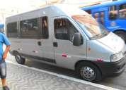 Fiat ducato minibus t.alto 2010 prata 18 poltronas no documento