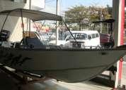 Barco aluminio 6,00mts