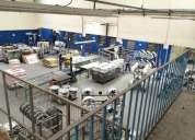 Galpão com 5.000m2 / todomontado / funciona indústria / rentabilidade de 1 por cento