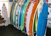 Pranchas de surf novas, usadas e encomendas