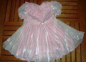 Vestido criança serve para 1 ano e 2 anos