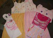 Lotecom 6 pÇs roupas infantil para meninas tam: 8 anos