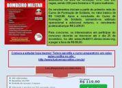 Apostila concurso corpo de bombeiros militar de santa catarina soldado