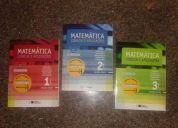 Livro de matematica (manual do profª) vol.1-2-3 ensino medio