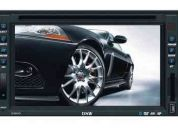 Dvd player automotivo double din bluetooth touch screen lcd