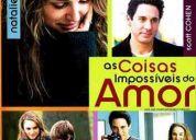 Dvd as coisas impossíveis do amor (natalie portman, lisa kudrow) * novo original lacrado