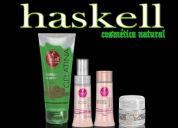 Haskell finalizadora  tratamento e condicionamento de cabelos com raparador de pontas