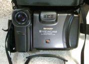 Camera vídeo filmadora sharp vle39b 8mm