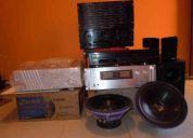 Vendo amplificador, power, caixa acustica... etc , alta qualidade