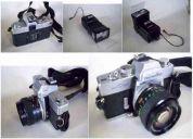 Câmara fotográfica analógica minolta sr-t 202– reflex-1975