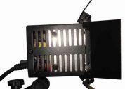 Iluminadores para filmagem profissional de led potência e economia x 512 pro