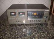 Tape deck toca fitas gravador k7 gradiente s-125