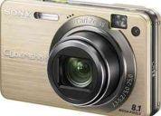 Câmera fotográfica sony - 8,1 megapixel zoom Óptico 5x