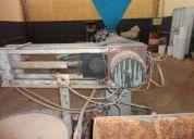 Extrusora 90mm com troca tela hidraulico vendo