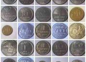 Vendo moedas brasileiras