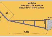 Construção bandeja proteção apara lixo dir fabrica 48x bndes