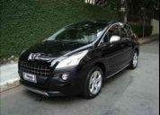 Peugeot 3008  4 portas - 2010 / griffe thp - preto