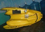 Tanque  de twister 250 amarela 2007