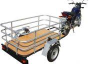 Reboque para moto, reboques para motos, para ser puxados por moto, com moto, saidcar, sid