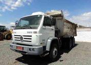 tratores maquinas - caminhão, volkswagem, 26260 6x4, basculnte, ano 2005,