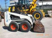 Mini carregadeira bob cat 653
