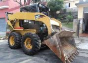 Mini carregadeira, caterpillar, 232b